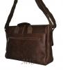Мужской кожаный портфель 4381 коричневый 3