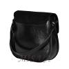 Женская замшевая сумка МІС 0711 черная 4