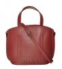 Жіноча сумка 35634 бордова 5
