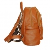 Кожаный рюкзак 2523 коричневый 3