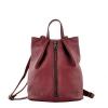 Female backpack 2569 burgundy 0