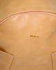 Leather backpack 2517 beige 0