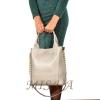 Женская сумка 35623 серебристая 5