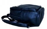 Шкіряний рюкзак 2523 синій 4