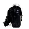 Мужская кожаная сумка Vesson 4583  черная  3