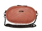 Женская сумка 35179 красная с тиснением 6