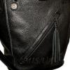 Женская кожаная сумка 2530 черная 0