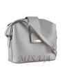 Женская сумка МІС  35758 серебристая 2