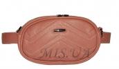 Женская сумка 35179 красная с тиснением 0