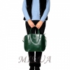 Женская сумка 35634 зеленая 5