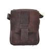 Мужская кожаная сумка Vesson 4563 коричневая 0