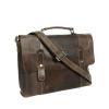 Мужской кожаный портфель Vesson 4635 коричневый 4