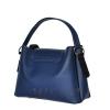 Женская замшевая сумка MIC 0703 синяя 3