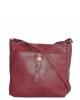Женская сумка 35447 бордовая  4