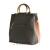 Женская сумка 35596-1 серая комбинированная 3