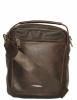 Мужская кожаная сумка 4348 коричневая  3