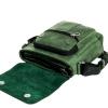 Мужская кожаная сумка Vesson 4639 зеленая 5