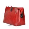 Женская сумка 35605 бордовая 3