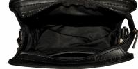 Жіноча сумка замшева 0663 чорна 5