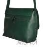 Женская кожаная сумка 2483 зеленая 3