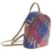 Женский рюкзак 35411 капучино с цветным принтом 0
