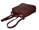 Жіночий рюкзак 2538 бордовий 4