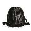 Женский кожаный рюкзак 381995 черный 0