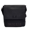 Men's leather bag 0427 is black 0