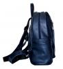 Шкіряний рюкзак 2523 синій 2