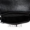 Женская замшевая сумка МІС 0711 черная 5