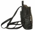 Кожаный рюкзак 4342 черный 2