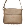 Женская сумка 35613 - 1 бронзовая 0