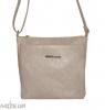 Женская сумка 35452 бежево-серая 0