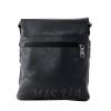 Мужская кожаная сумка Vesson  4126 черная 4