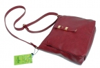 Женская сумка 35447 бордовая  8