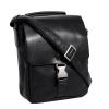Мужская кожаная сумка Vesson 4632 черная  5
