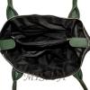 Женская сумка 35586  черная с зеленым 4
