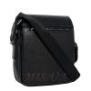 Мужская кожаная сумка Vesson 4605 черная 4