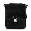 Мужская кожаная сумка Vesson 4632 черная  0
