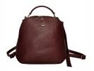 Жіночий рюкзак 2538 бордовий 0