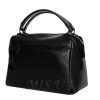 Женская замшевая сумка MIC 0719 черная 4