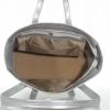 Женская сумка 35450 А серебреная 4