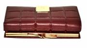 Женский кошелек 175216 бордовый 2