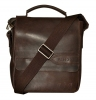 Мужская кожаная сумка 4508 коричневая 4