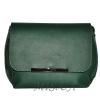 Женская кожаная сумка 2483 зеленая 0