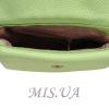 Женская  кожаная сумка МІС 2485 мятная 4