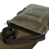 Мужская кожаная сумка Vesson 4623 коричневая 6