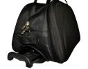 Дорожная сумка на колесах 381470 черная 3