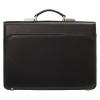 Мужской кожаный портфель 472 черный 1