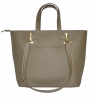 Женская сумка 35450 темно - бежевая 0